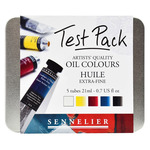 Sennelier Artists' Quality Oil Colors 21ml Test Pack of 5