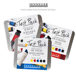 Sennelier Artists' Quality Paints and Pastels Test Packs