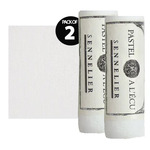 Sennelier Giant Soft Pastel, White 525 Box of 2