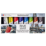 Sennelier Rive Gauche Oil Set of 8, 40ml Tubes