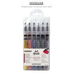Sennelier Watercolor Ink Brush Pen Sets