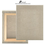 """Senso Clear Primed Linen Stretched Canvas 1-1/2"""" Deep"""