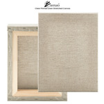 """Senso Clear Primed Linen Stretched Canvas 3/4"""" Deep"""