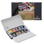 Rembrandt Watercolor Half-Pan Mono Pigmented Tin Set of 12