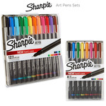 Sharpie Art Pen Sets with Hard Case