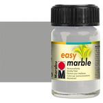 Marabu Easy Marble Color Silver 15ML Jar
