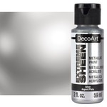 DecoArt Extreme Sheen Metallic Paint 2oz Silver