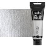 Liquitex Basics Acrylic 4 oz Tube - Silver