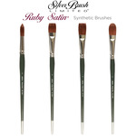 Silver Brush Ruby Satin® Synthetic Brushes