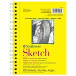 "Strathmore 300 Series Sketch Pad 5.5x8.5"" 100 Sheets"