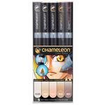 Chameleon Marker Set Of 5 - Skin Tones