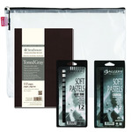 "Strathmore 400 Series Softcover Art Sketch Gift & Carry Bag 7-3/4"" x 9-3/4"""