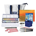 Watercolor Sketch Gift Boat Bag Set (small bag)