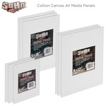 SoHo Urban Artist Cotton Canvas All Media Panel 3-Packs