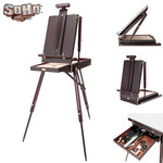 SoHo Urban Artist Lightweight Mahogany French Easel