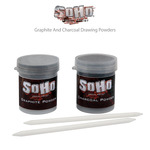 SoHo Graphite and Charcoal Drawing Powders