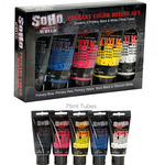 SoHo Urban Artist Acrylic Paint Mixing Set of 5 75ml Tubes