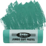 SoHo Urban Artist Jumbo Artists' Soft Pastel Stick - Jade Green