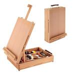 Table Easel and Sketch Box Oiled Beechwood, Soho
