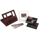 SoHo Portable Wood Table and Desk Easel Oil Painting Set 36pc
