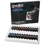 SoHo Urban Artist Acrylic Value Tube Set of 24