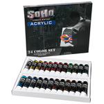 SoHo Urban Artist Heavy Body Acrylic Paint Value Sets