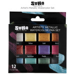 SoHo Artist's Metallic Watercolor Set