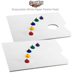 SoHo Disposable White Paper Palette Pads