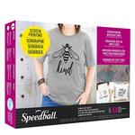 Speedball Beginner Screen Printing Craft Vinyl Kit