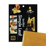 "Speedball Mona Lisa Gold Leafing Simple Leaf 18 Pack 5.5x5.5"" - Gold"