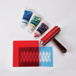Speedball Monoprinting Starter Kit with Gel Printing plate