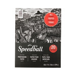 Speedball Printmaking Paper Pad 20 Sheets 8.5X11 In