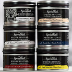 Speedball Pro Relief Ink Can Set of 6 Assorted Colors 8 Oz