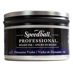 Speedball Pro Relief Ink Can  Dioxazine Violet 8 Oz