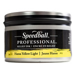 Speedball Pro Relief Ink Can  Hansa Yellow Light 8 Oz