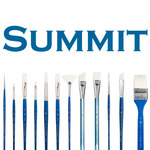 Princeton Summit™ Series 6850 Short Handle Synthetic Brushes