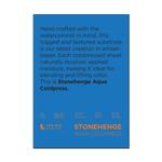 """Stonehenge Aqua Watercolor Paper 140lb Cold Press 10x14"""" Block of 15 Sheets"""