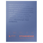 "Stonehenge Aqua Watercolor Paper 140lb Cold Press 18x24"" Block of 15 Sheets"