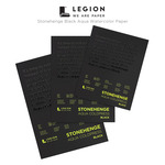 Stonehenge Black Aqua Watercolor Paper Pads by Legion