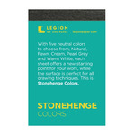 Stonehenge Mini 250 gsm Paper Pad 2.5x3.75 Multi-Color 15 Sheets