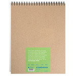 "Stonehenge Paper 32 Sheets Wirebound Journal 11x14"" - White Pad"