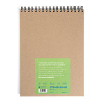 "Stonehenge Paper 32 Sheets Wirebound Journal 9x12"" - White  Pad"