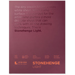 Stonehenge Light Drawing & Printmaking 11x14in Paper Pad Smooth Finish, 30 Sheets (135 gsm 50LB)