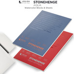 Stonehenge Aqua Watercolor Blocks & Watercolor Paper Sheets
