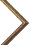 Imperial Frames Stratford Collection Black/Gold 12x12