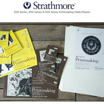 Strathmore 300, 400 & 500 Series Printmaking Pads & Sheets