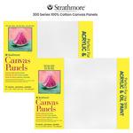 Strathmore 300 Series 100% Cotton Canvas Panels