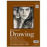 "Strathmore 400 Series Drawing Pad, 24 Sheets 8x10"""