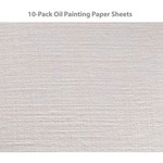 10-Pack Strathmore 400 Series Oil Painting Paper Sheets 18x24