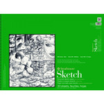 """Strathmore 400 Series Recycled Sketch Pad, 50 Sheets 8x24"""" Landscape"""